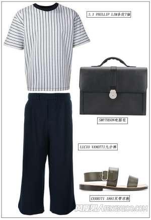 资讯生活秋天穿长裤 男生经典元素的衣服搭配
